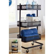 amazon com mainstays adjustable utility cart storage features 3
