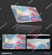 Credit Card Design Template Credit Card Design Template Stock Vector 429626623 Shutterstock