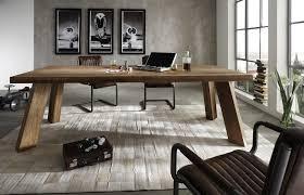 Esszimmer Mit Sofa Esstisch Thor Balkeneiche Massiv
