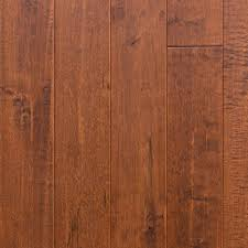 cinnamon canadian maple engineered scraped hardwood flooring