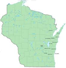 Wisconsin Counties Map by Radon Reduction Specialists Home