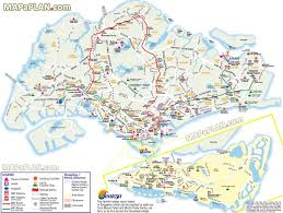 Cable Car Map Singapore Top Tourist Attractions Map New Zone