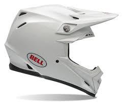 white motocross gear bell moto 9 helmet white revzilla