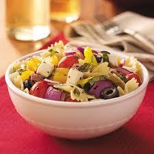 cold salads italian basil pasta salad recipe taste of home
