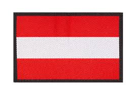 Flag Pic Austria Flag Patch Color Identifikation Equipment Clawgear
