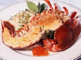 homard grillé et légumes au beurre de citron facile recette sur