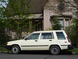vintage toyota 4x4 curbside classic 1984 toyota tercel wagon