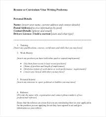 Cv Full Form Resume Best Resume Formats 47 Free Samples Examples Format Free