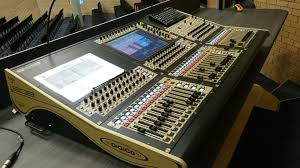 Studio Mixer Desk by Sound And Video Mixing Desks For Churches