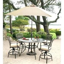 patio furniture high bistro sets ideas outdoors table and chairs