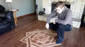 building a floor medallion diy