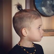 boy wears his hair in an updo 30 toddler boy haircuts for cute stylish little guys