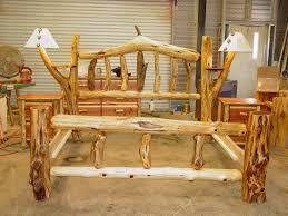 Cedar Log Bedroom Furniture by Rustic Log Beds Twisted Juniper Red Cedar Bed Room Sets 110 Msexta
