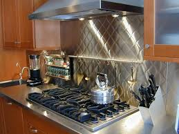 Kitchen With Stainless Steel Backsplash Backsplashes U0026 Wall Panels Brooks Custom