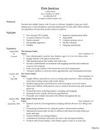 exle of a personal profile for resume babysitter resume objective best photos of personal assistant