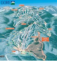 New York Ski Resorts Map by Gore Mountain Trail Map Liftopia