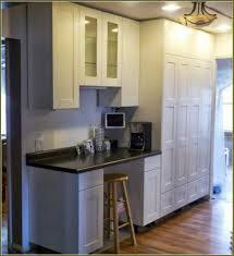 Kitchen Cabinet Dimensions by Tall Kitchen Cabinet White Kitchen With Open Shelvingtall Kitchen