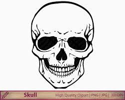 skull clipart human skull clip art horror halloween