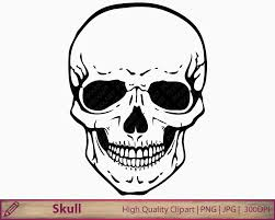 Pictures Of Halloween Skeletons Skull Clipart Human Skull Clip Art Horror Halloween