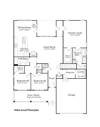 The Ansley Floor Plan New Single Family Home For Sale The Pennington At Spring Creek
