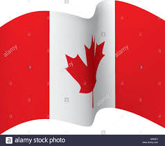 Canada Flag Colors Canada Flag Stock Vector Images Alamy