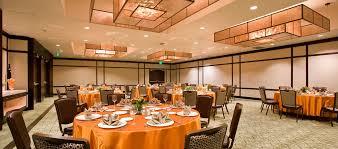 Orange Dining Room Hotels In Irvine Ca Hilton Orange County Airport