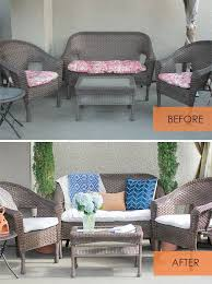 delightful reupholster outdoor furniture how to re cover patio
