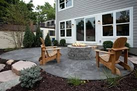 Stamped Concrete Backyard Ideas Backyard Concrete Patio Design Ideas Concrete Backyard Patio