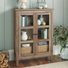 glass door cabinet walmart 10 spring street farmhouse library cabinet walmart com new home