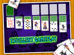 witch spider solitaire android apps on google play