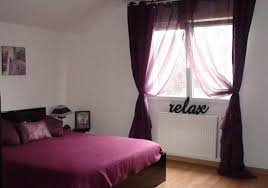 chambre prune et blanc chambre bebe prune et taupe mobilier décoration