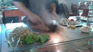le chauffante cuisine cuisine sur plaque chauffante photo de teppan yaki lyon