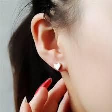 top earing aliexpress buy 2015 top selling stud earrings tiny heart