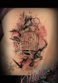 25 beautiful bird cage tattoos ideas on pinterest cage tattoos