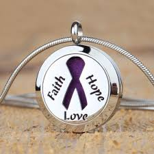 colored necklace chains images Faith hope love aromatherapy essential oil diffuser necklace with jpg