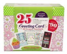 all occasion cards burgoyenne all occassion 25 handmade greeting cards ebay