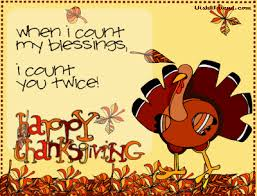 thanksgiving turkey graphic when i count my blessings