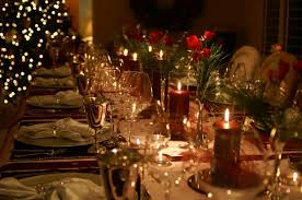 christmas dinner table decorations photo how to set a trendy table this season how to