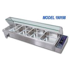 electric steam table countertop amazon com 110v 4 pan commercial bain marie buffet food warmer