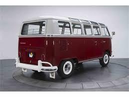 volkswagen kombi 1966 volkswagen kombi 21 window bus for sale classiccars com