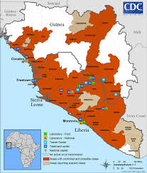 Liberia Map The Salvation Army Continues To Battle U0027unparalleled U0027 Health