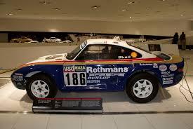 porsche dakar file porsche 959 1986 paris dakar racer rothmann racing lside