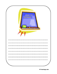 Printable Lined Paper 3 Pages Of Printable Lined Paper For Writing Stories Freeology