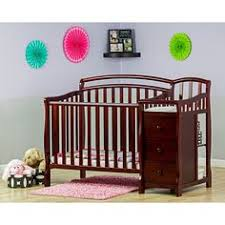 Mini Crib With Attached Changing Table Oakland Crib Espresso 332313406 In Store Only Convertible
