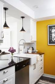 kitchen accent wall ideas kitchen alluring kitchen yellow walls accent white bright