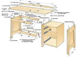 Woodworking Plans Bedside Table Free by Wood Kitchen Work Table Free Woodworking Plans Desk Wood Computer