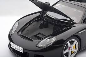 porsche sports car models amazon com auto art 1 18 porsche carrera gt black art nr