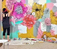 Best  Murals Ideas On Pinterest Paint Walls Bedroom Murals - Girls bedroom wall murals