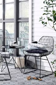 interior appealing wrought iron chairs and table in sunroom ellos home garden chair and table bargo http www ellos se ellos