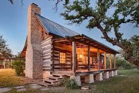 cabin style homes in texas design and ideas